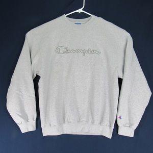 Vintage Champion Full Spellout Sweatshirt Size L